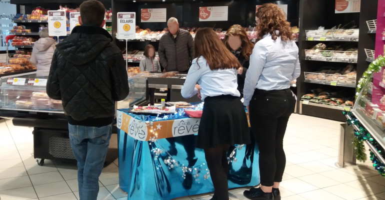 Vente en Distribution Alimentaire